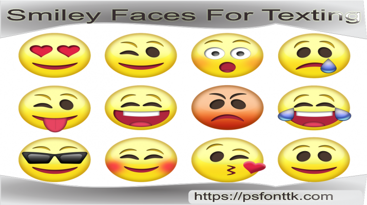 Smiley Faces For Texting