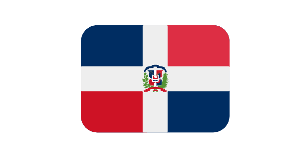 Dominican Republic Flag Emoji