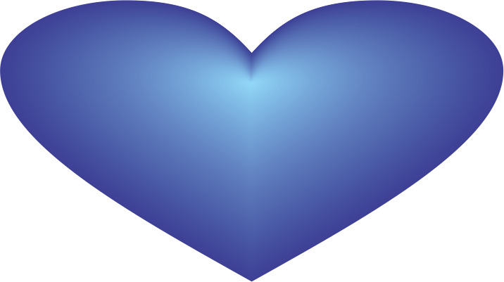 Blue Heart PNG