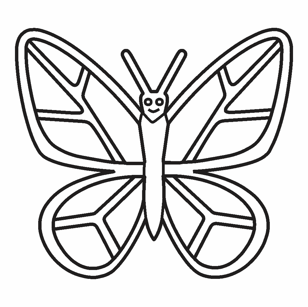Butterfly Coloring
