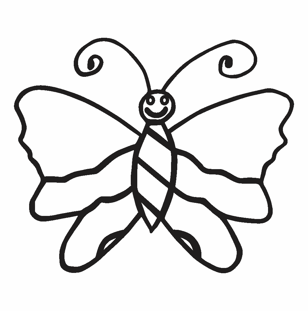 coloring butterfly pictures